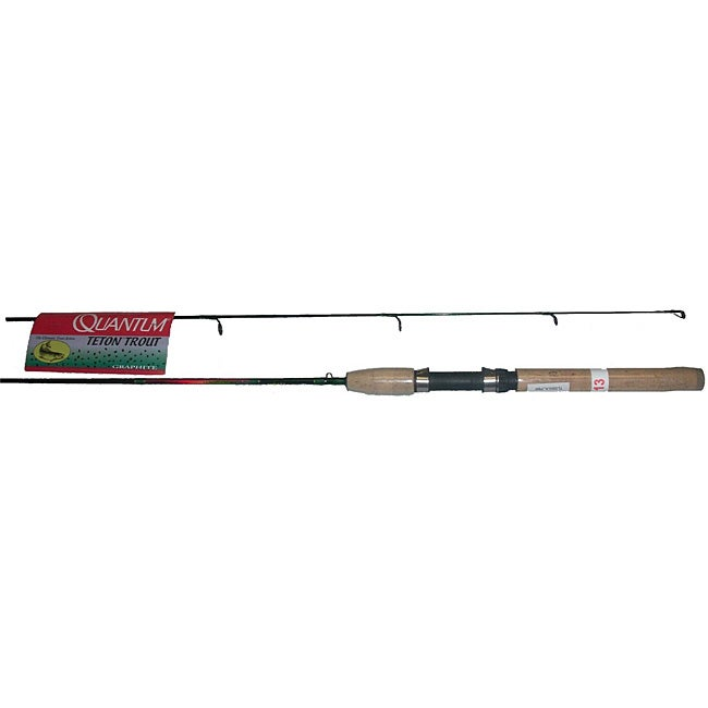 Quantum teton trout 6 5 foot ultralight fishing rod for Ultra light fishing rod and reel combos