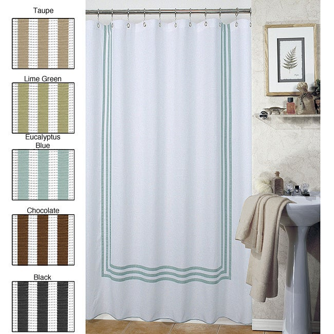 Waffle Shower Curtain