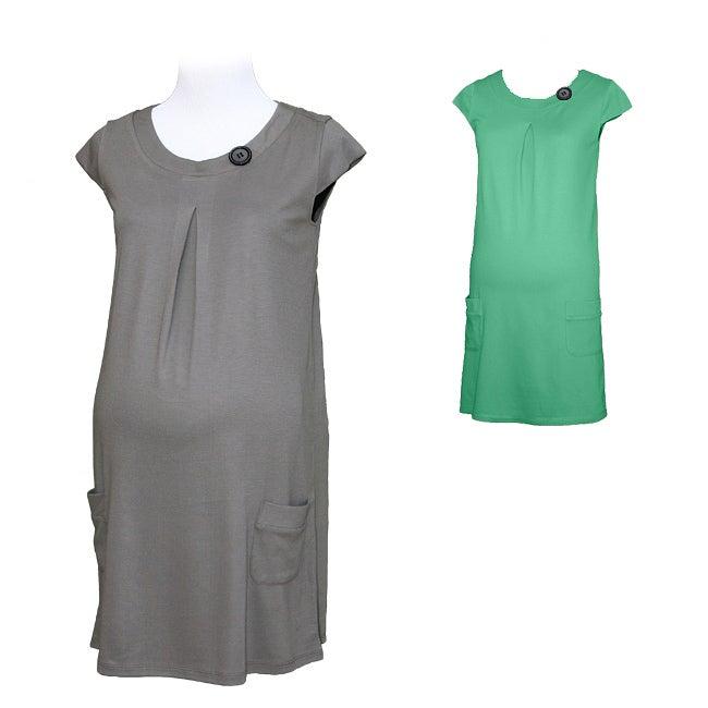 Belly Button Women's Tunic Maternity Shirt