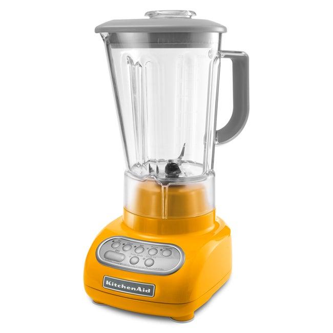 KitchenAid KSB560YP Yellow Pepper Artisan Series 5-Speed Blender