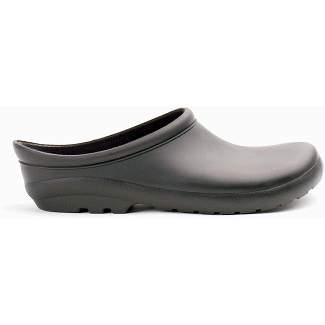 Sloggers Men's Premium Clog Black