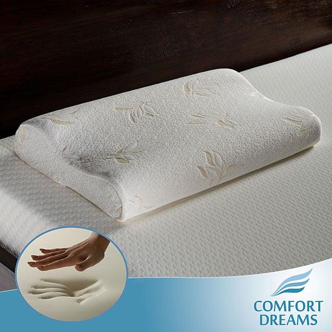 Comfort Dreams Premium 4-pound Density Memory Foam Contour Pillow