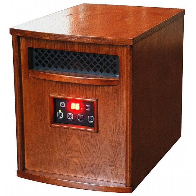 Lifesmart Amish-inspired Power Plus Infrared Quartz Heater