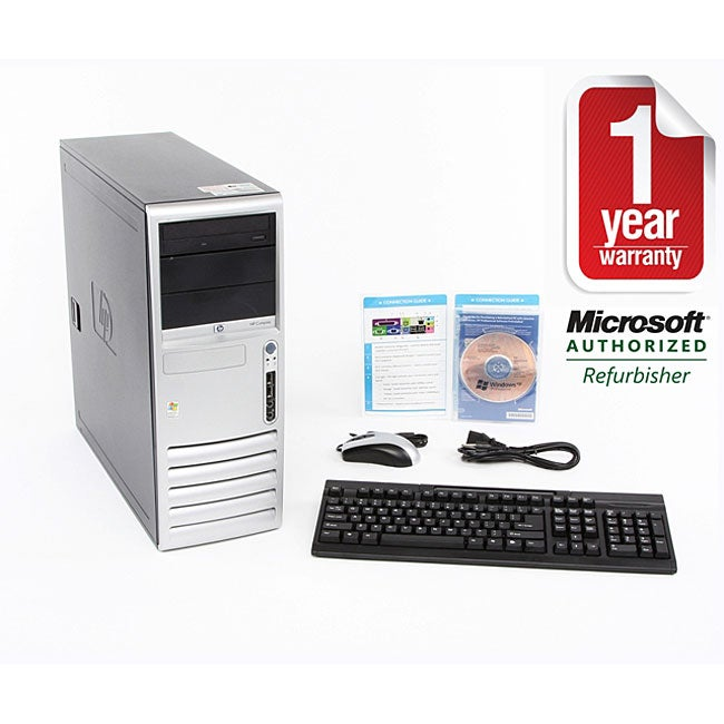 HP DC7600 3.4 GHz 2GB 500GB Desktop Computer (Refurbished)