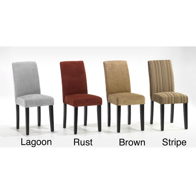 Fabric Dining Chairs (Set of 2)