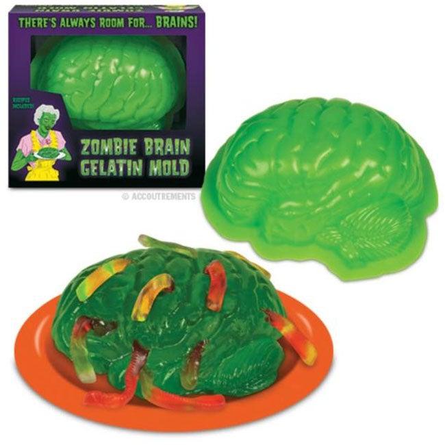 Zombie Brain Gelatin Mold