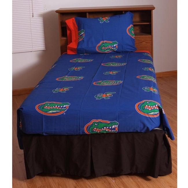 University of Florida Gators Twin-size Sheet Set