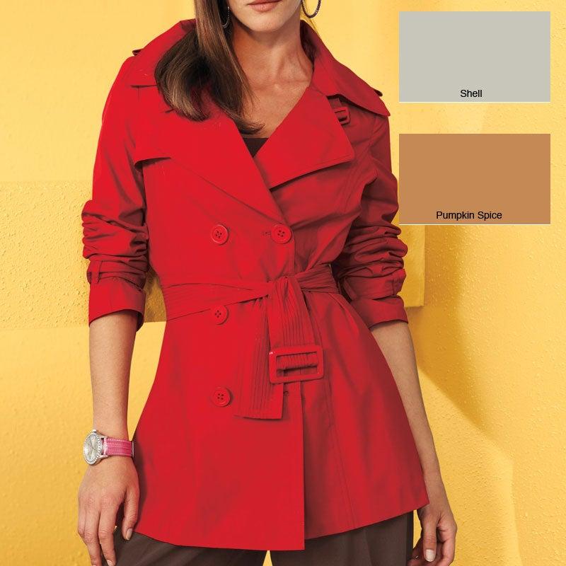 Spiegel Women's Missy Belted Trench Coat