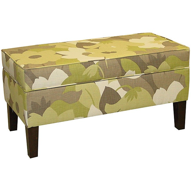 Made To Order Jenny Upholstered Esprit Pear Storage Bench