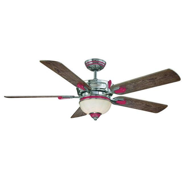 Savoy House Red Zinger Skylark Ceiling Fan