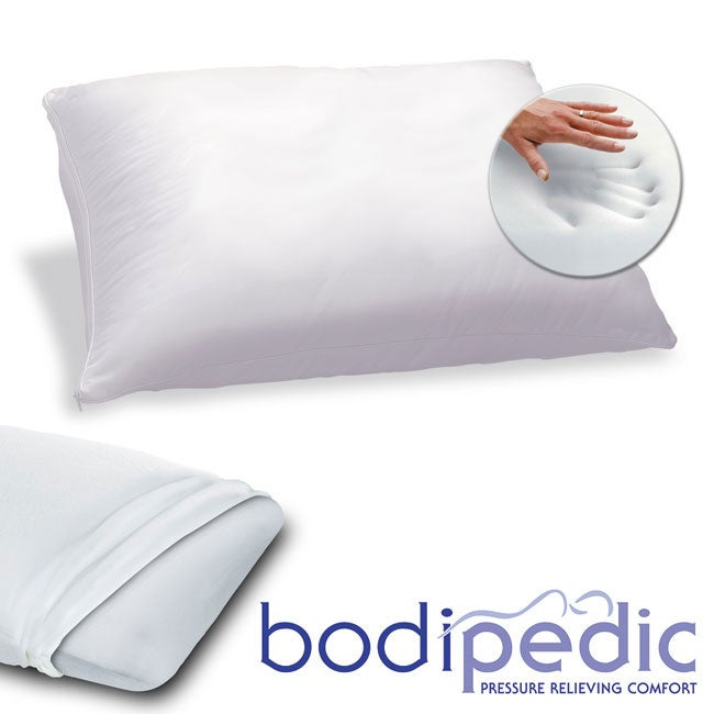 Bodipedic King-size Molded Memory Foam Pillow