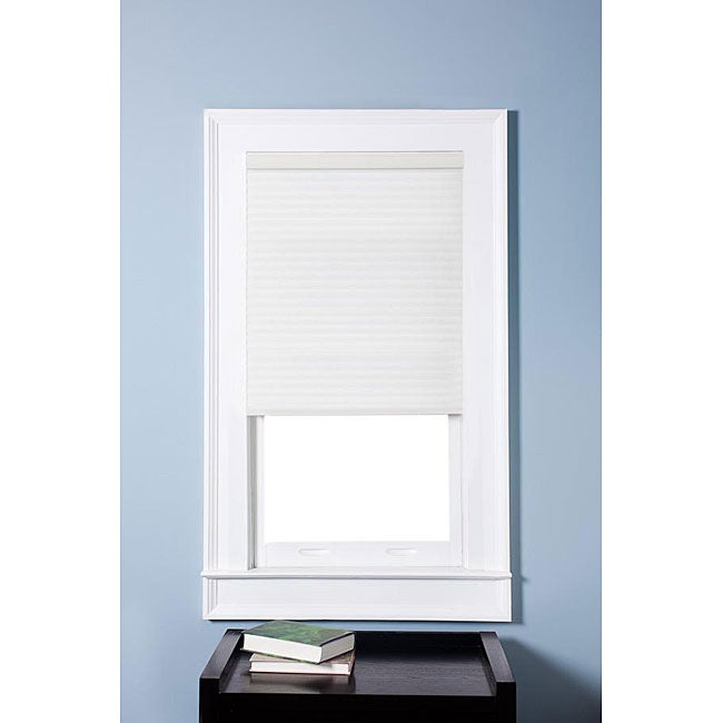 Honeycomb Cell Light-filtering Pure White Cellular Shades (28.5 x 60)