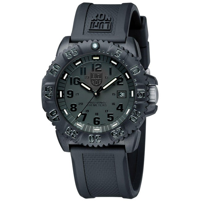 Luminox Men's EVO Navy Seal Blackout Watch