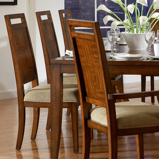 Liam Wood Arm Chairs (Set of 2)