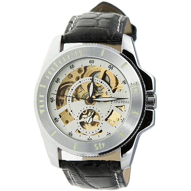 Monument Men's Skeletonized Automatic Watch