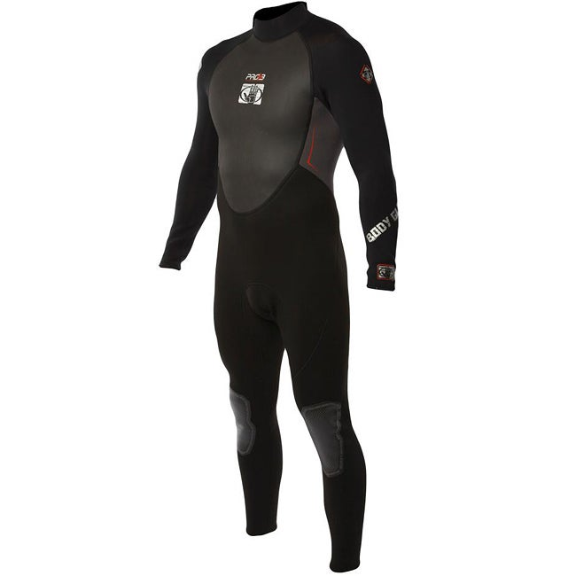 Body Glove Men's Pro 3 Black/ Charcoal Full Wetsuit