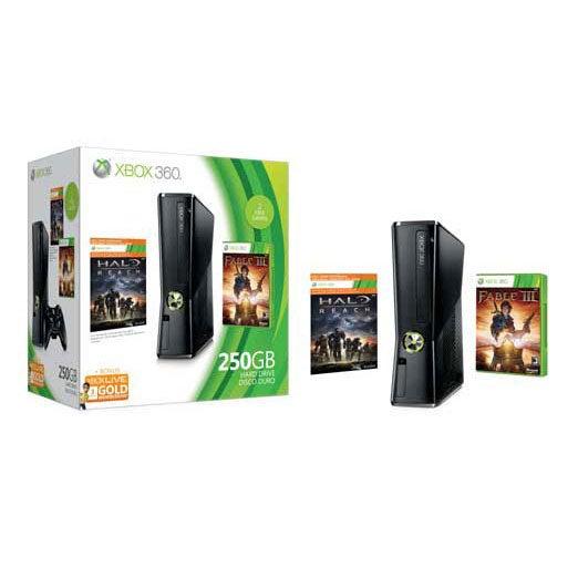 Xbox360 - 250gb Console Bundle