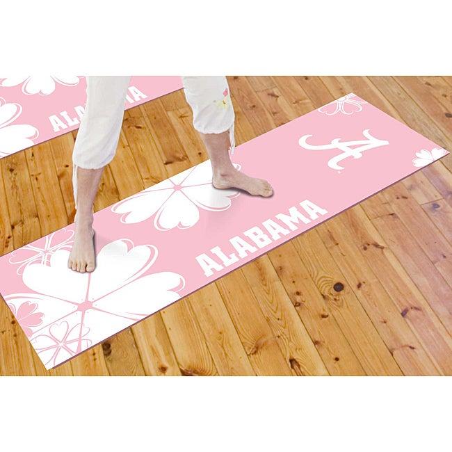 Fanmats University of Alabama Yoga Mat