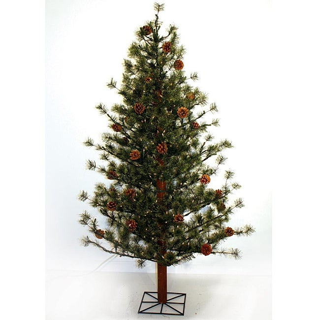 Good Tidings Sierra Mtn Pine 250 Clear 6-foot Christmas Tree