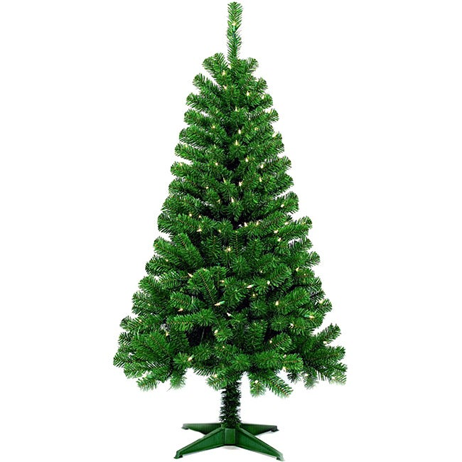 Wood Trail Pine 5-ft Artificial Christmas Tree