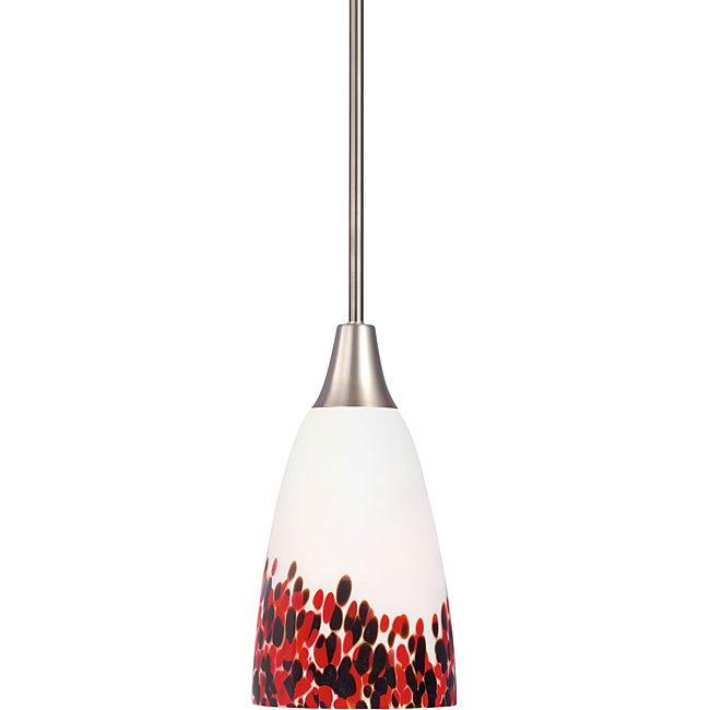 Woodbridge Lighting 1-light Satin Nickel Mini Pendant