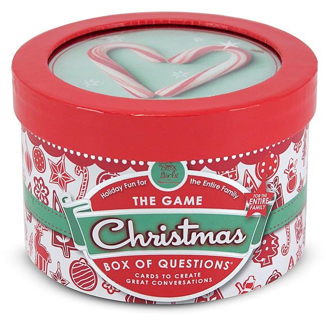 Melissa & Doug Christmas Box of Questions Game