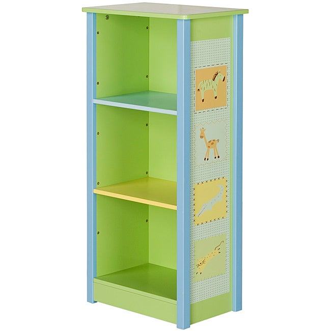 Child's Animal-Printed Bookcase