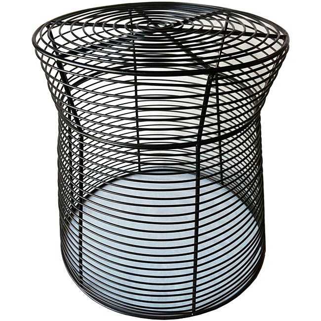 16 Inch Metal Wire Side Stool Table Overstock Shopping