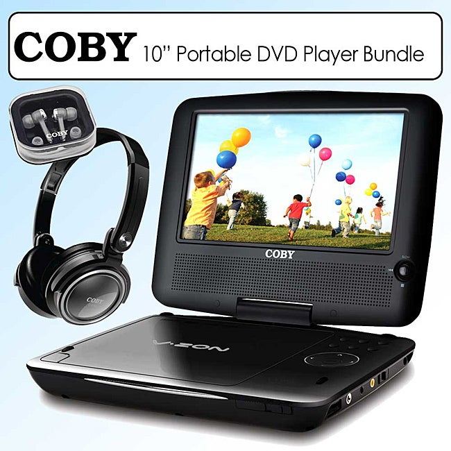 Coby Portable DVD Player (10-inch)