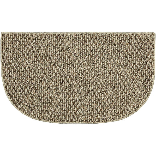 Calliope Slice Berber Khaki Rug (1'6 x 2'5)