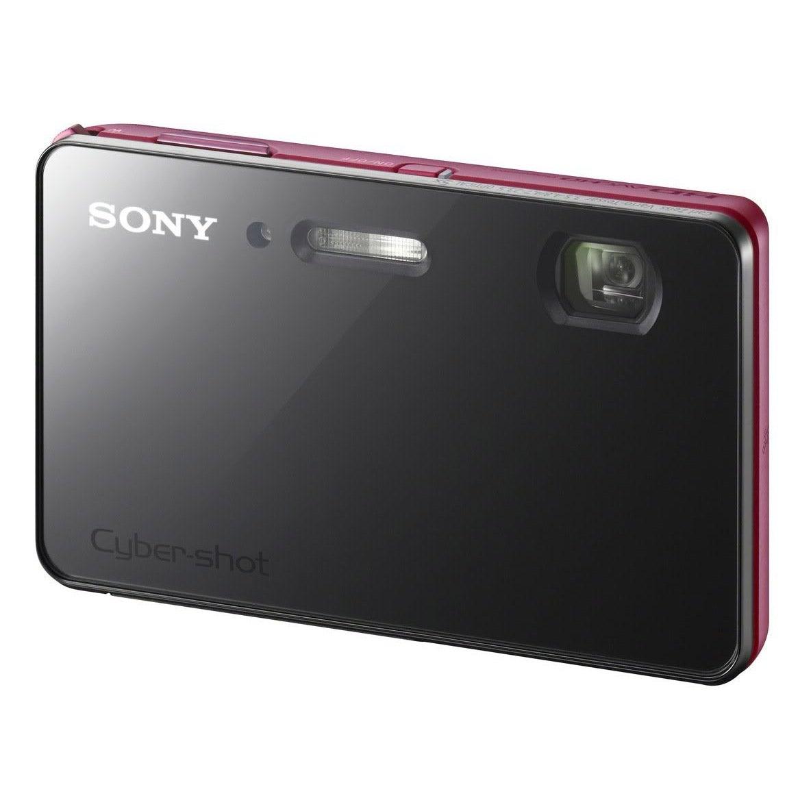 Sony Cyber-shot DSC-TX200V 18.2MP 3D Panorama Red Digital Camera