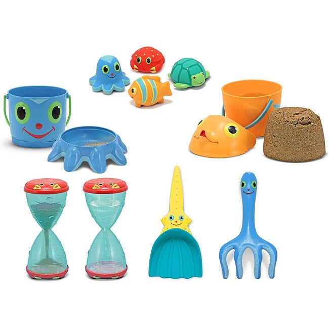 Melissa & Doug Sunny Patch Sand and Water Play Set #1