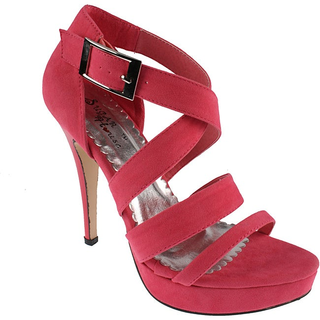 Elegant by Beston Women's Coral 'Milifa-6' Platform Sandals