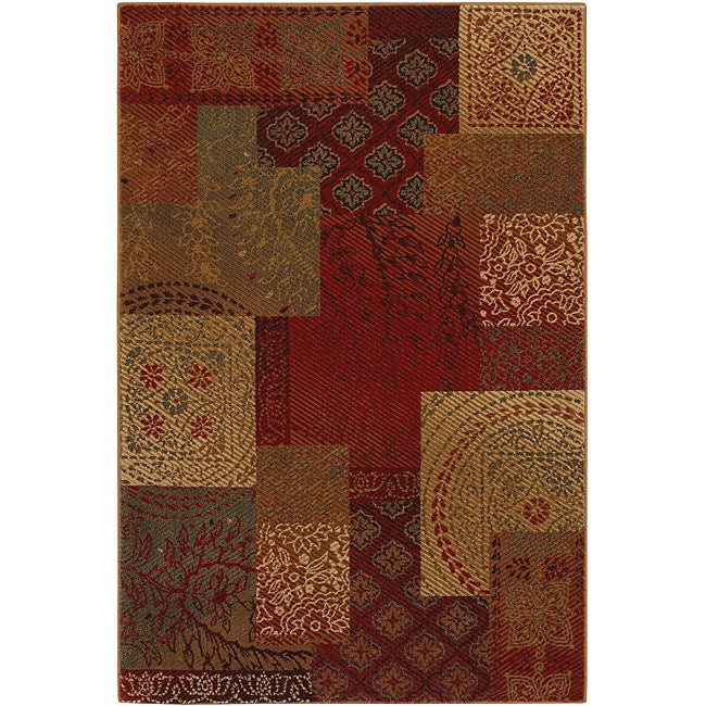 Country Quilt Earth Blast Rug (8' x 10')