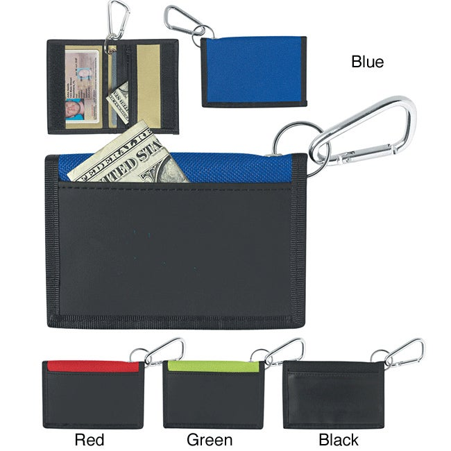 ID Holder with Carabiner (Case of 100)