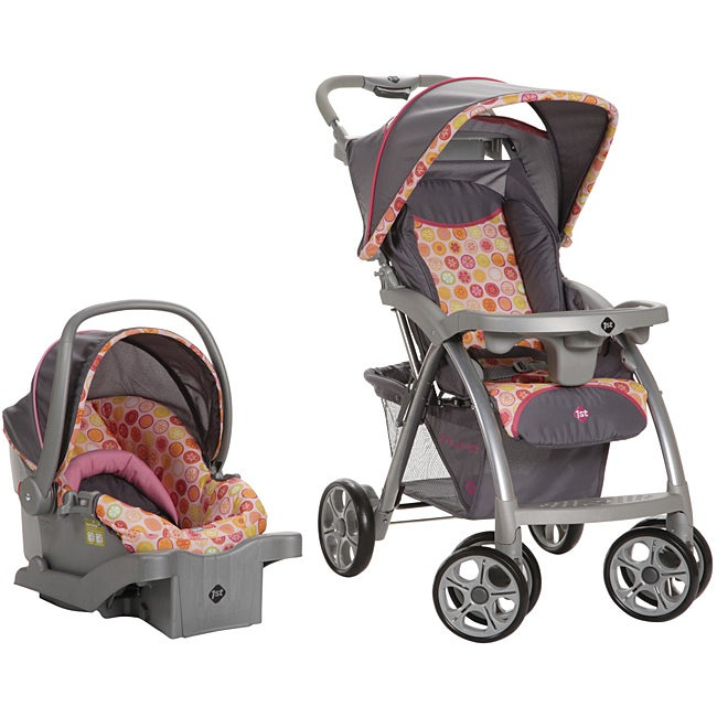 Safety 1st Saunter Travel System in Citrus