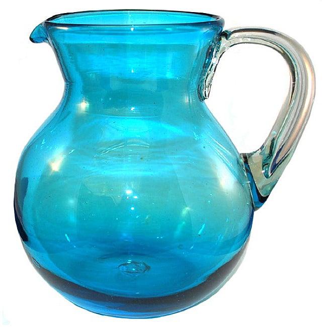 Santorini Blue Pitcher