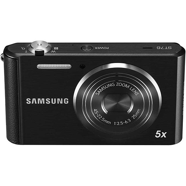 Samsung ST76 16MP Black Digital Camera