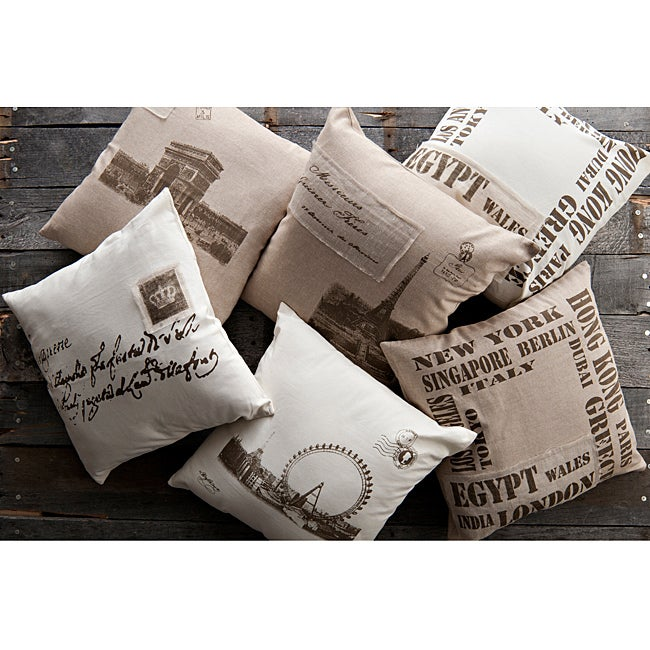 Old World Decorative 18-inch Pillows (Set of 6)