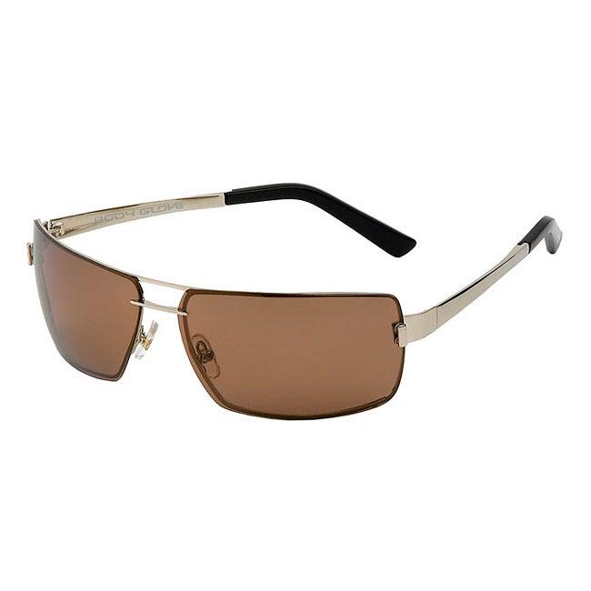 Body Glove Men's 'Pensacola' Polarized Aviator Sunglasses