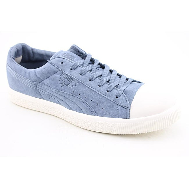 Puma Men's Clyde X Undftd Coverblock Blue Casual Shoes
