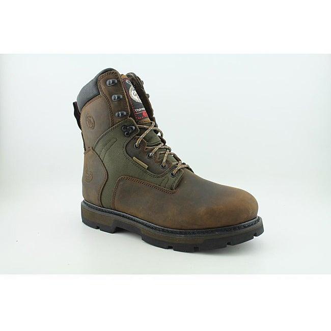 "Georgia Men's G8134 8"" GWP 600g Insulated Tan Boots Wide"