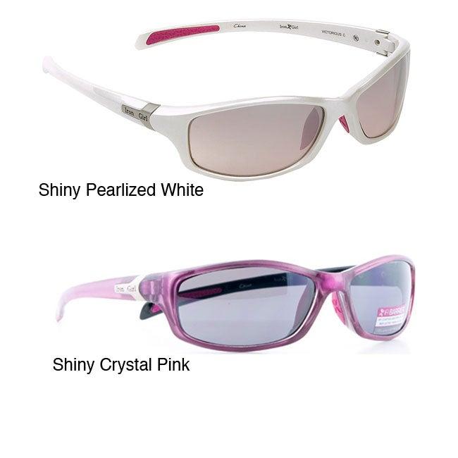 Iron Girl Women's 'Victorious' Nylon Sport Sunglasses