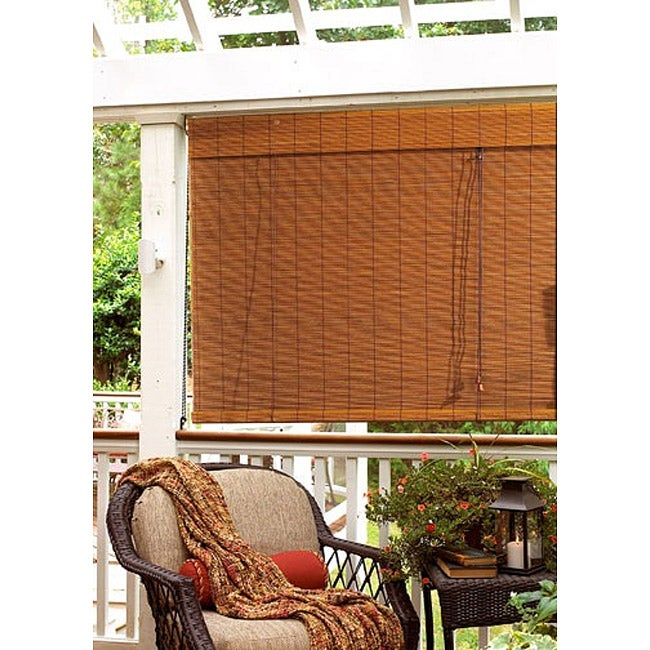 Imperial Fruitwood 60x72-inch Matchstick Blind