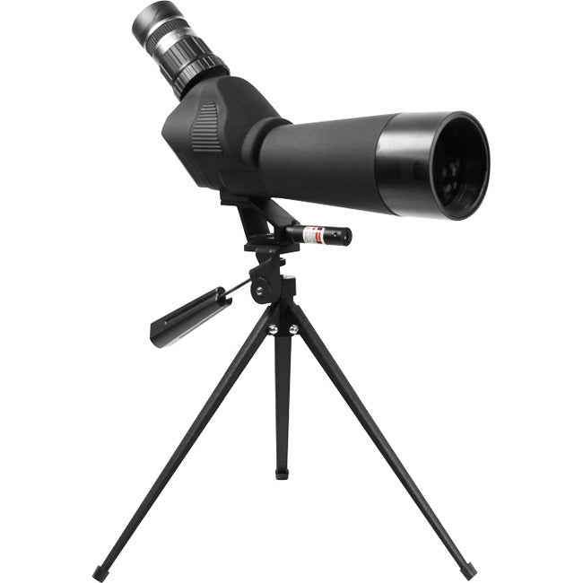 20-60x60 Aircraft-grade Aluminum Spotting Scope/Tripod w/Laser
