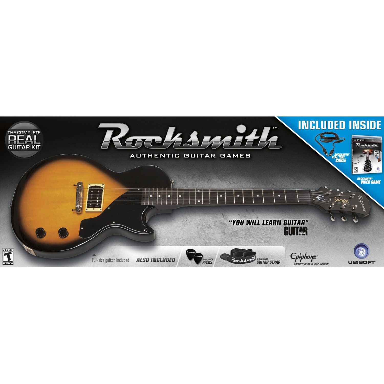 PS3 - Rocksmith Guitar Bundle for Guitar and Bass