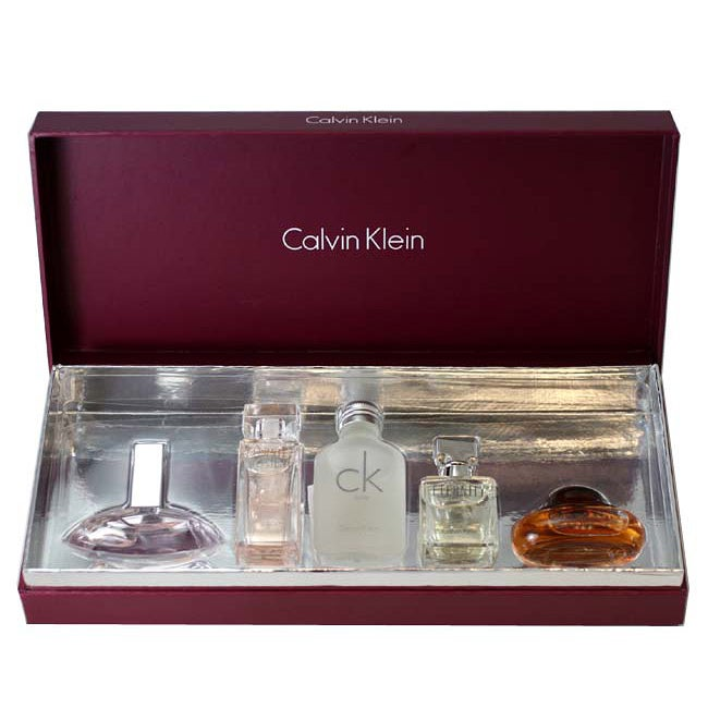 Calvin Klein Deluxe Women's Travel Collection 5-piece Gift Set