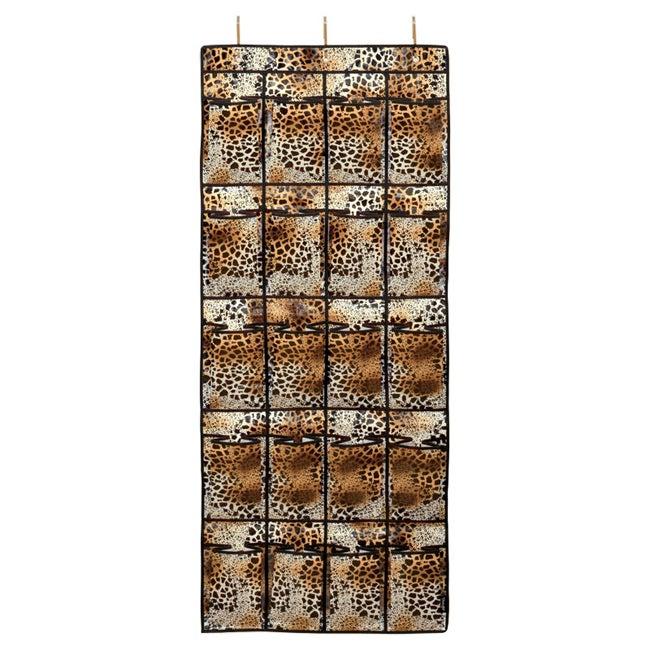 Tango Leopard Over Door Shoe Rack
