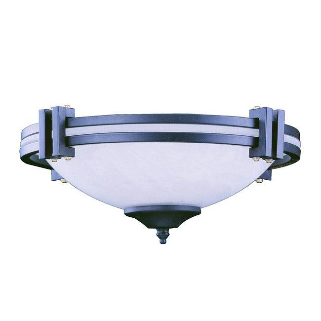Three Light Graphite Ceiling Fan Light Kit