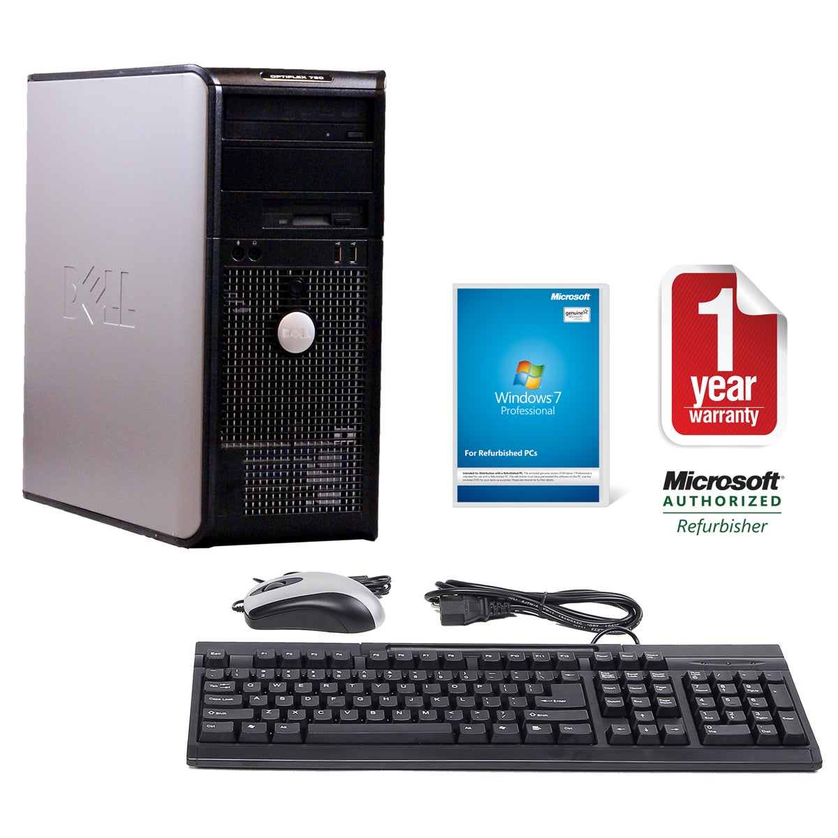 Dell OptiPlex 760 2.4GHz 500GB MT Computer (Refurbished)